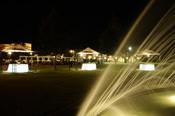 esterno parco, la fontana