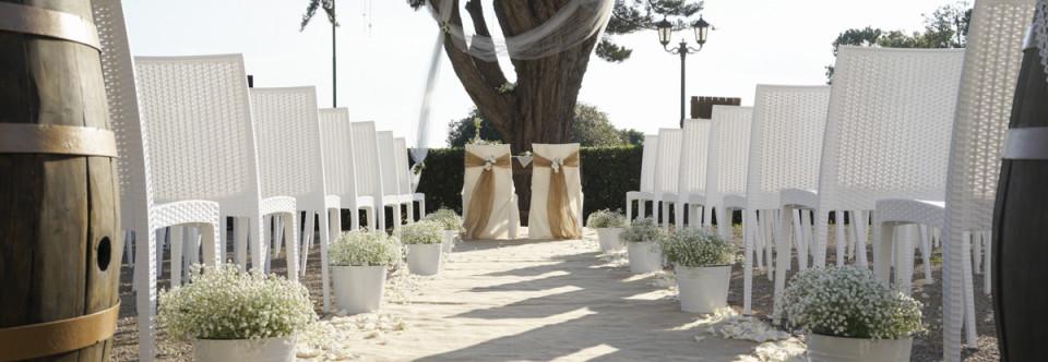 Allestimenti per un matrimonio da fiaba